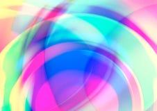 Abstracte achtergrond met radiaal gradiënteffect stock illustratie
