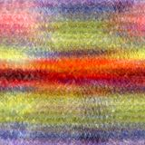 Abstracte achtergrond met regenboog horizontale grunge bevlekte strepen vector illustratie