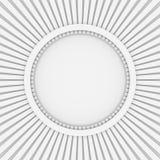 Abstracte achtergrond met rond raad Royalty-vrije Stock Fotografie