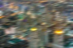 abstracte achtergrond met snelheidsmotie van lichten Royalty-vrije Stock Foto
