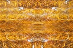 abstracte achtergrond met snelheidsmotie van lichten Stock Afbeelding