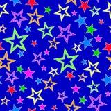 Abstracte achtergrond met sterren vector illustratie