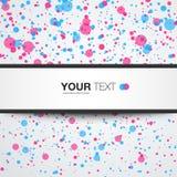 Abstracte achtergrond met tekstvakje stock illustratie