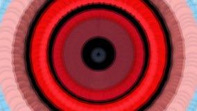 Abstracte achtergrond met uitbarstingscirkels stock videobeelden