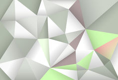 Abstracte achtergrond met veelhoeken Stock Foto