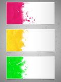 Abstracte achtergrond met verfplonsen. Royalty-vrije Stock Afbeeldingen