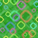 Abstracte achtergrond met vierkanten stock illustratie