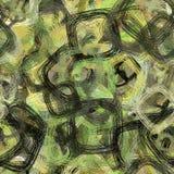 Abstracte achtergrond met vierkanten royalty-vrije illustratie