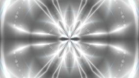 Abstracte achtergrond met VJ-Fractal caleidoscopisch zilver 3d teruggevende digitale achtergrond stock illustratie