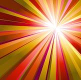 Abstracte achtergrond met warme kleuren Royalty-vrije Stock Afbeelding