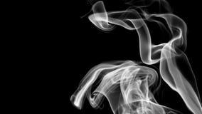 Abstracte achtergrond met witte rook het 3d teruggeven vector illustratie