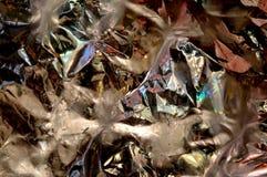 Abstracte achtergrond met zacht patroon in goud royalty-vrije stock afbeeldingen