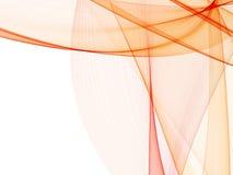 Abstracte achtergrond met zachte lijnen Stock Fotografie