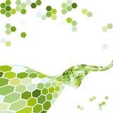 Abstracte achtergrond met zeshoeken. Royalty-vrije Stock Foto