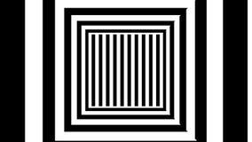 Abstracte achtergrond met zwart-witte strepen Royalty-vrije Stock Fotografie