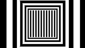 Abstracte achtergrond met zwart-witte strepen Stock Fotografie
