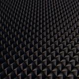 Abstracte achtergrond met zwarte veelhoeken Royalty-vrije Stock Afbeelding
