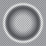 Abstracte achtergrond, metaalbrochure Stock Afbeelding
