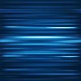 abstracte achtergrond Motie blauwe horizontale lijnen Vectortechno Stock Afbeeldingen