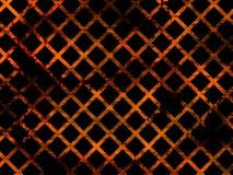 Abstracte achtergrond - oranje gradiënt met diamantenpatroon Stock Foto's