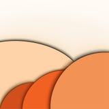 Abstracte achtergrond. Oranje kleuren Stock Afbeelding