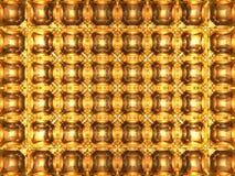 Abstracte achtergrond - Oranje mozaïek vector illustratie