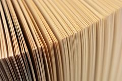 Abstracte achtergrond, pagina's van een open boek royalty-vrije stock foto