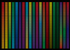 Abstracte achtergrond, regenboogachtergrond Royalty-vrije Stock Afbeelding