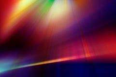 Abstracte achtergrond in rode, blauwe, purpere en gele kleuren royalty-vrije illustratie