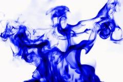 Abstracte achtergrond, rook op een witte achtergrond stock foto's