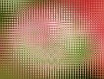 Abstracte achtergrond in roze en groen Stock Foto