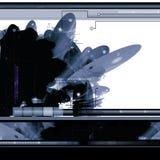 Abstracte achtergrond sc.i-FI royalty-vrije illustratie