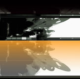 Abstracte achtergrond sc.i-FI Stock Fotografie