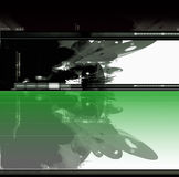 Abstracte achtergrond sc.i-FI stock illustratie