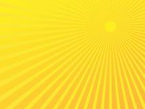 Abstracte Achtergrond Starburst Stock Foto