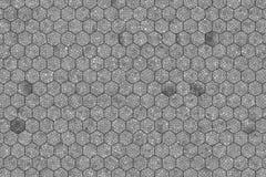 Abstracte achtergrond of textuur voor ontwerp, zwarte & witte b&w-patroon hexagon strook stock afbeelding