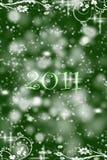 Abstracte achtergrond van 2011 Royalty-vrije Stock Foto's
