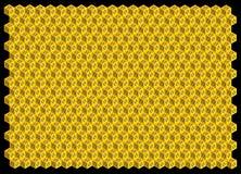 Abstracte achtergrond van 3D zeshoeken Royalty-vrije Stock Fotografie