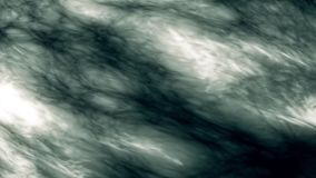 Abstracte achtergrond van bewegend vloeibaar plasma Animatie Prachtige turbulente stromen van iriserend plasma Denken aan rook of stock videobeelden