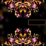 Abstracte achtergrond van bloem Royalty-vrije Stock Afbeelding