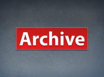 Abstracte Achtergrond van de archief de Rode Banner royalty-vrije illustratie
