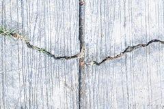 Abstracte achtergrond van de barst de concrete vloer stock afbeeldingen