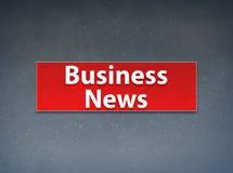 Abstracte Achtergrond van de Business News de Rode Banner stock illustratie