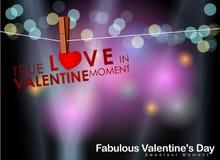 Abstracte achtergrond van de dag van Valentine ` s Achtergrondmalplaatje Royalty-vrije Stock Afbeeldingen