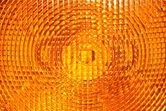 Abstracte achtergrond van geel gefacetteerd plastiek royalty-vrije stock afbeelding