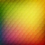 Abstracte achtergrond van gekleurde cellen Royalty-vrije Stock Afbeeldingen