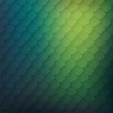 Abstracte achtergrond van gekleurde cellen Stock Fotografie