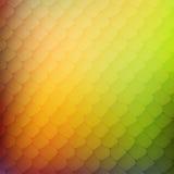 Abstracte achtergrond van gekleurde cellen Stock Foto's