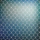 Abstracte achtergrond van gekleurde cellen Royalty-vrije Stock Foto's