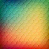 Abstracte achtergrond van gekleurde cellen Royalty-vrije Stock Foto